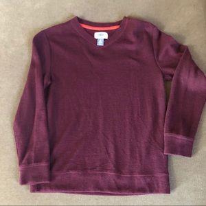 ⛄️4/$20⛄️ Old Navy burgundy boys sweater v neck
